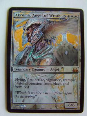 Akroma, Angel of Wrath alter #