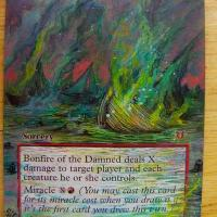 Bonfire of the Damned alter #