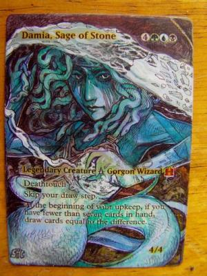 Damia, Sage of Stone alter #