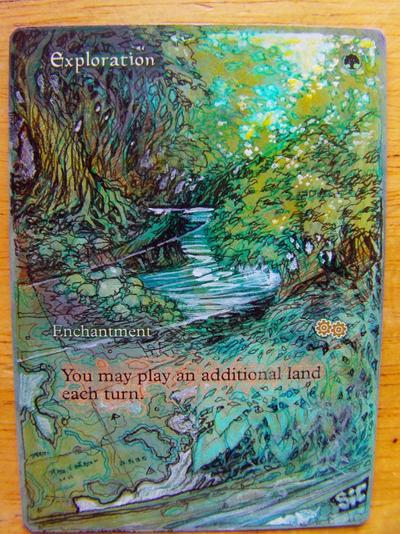 Exploration card alter by seesic