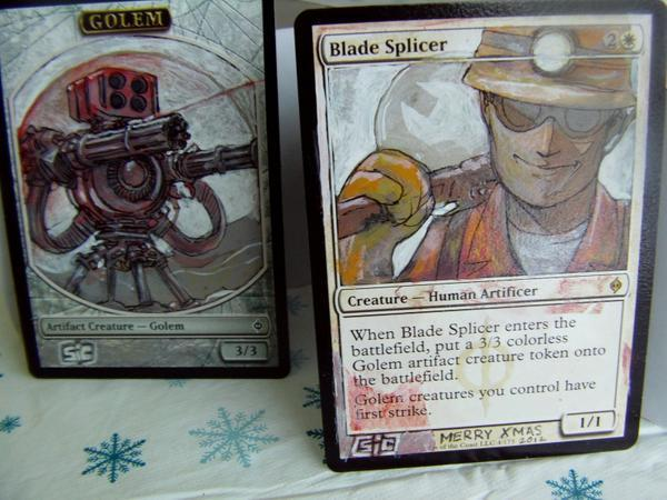 Blade Splicer card alter by seesic