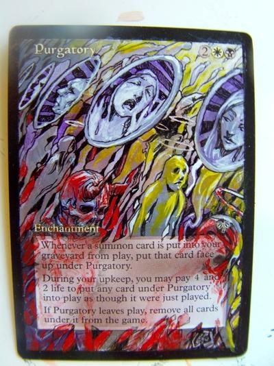 Purgatory card alter by seesic