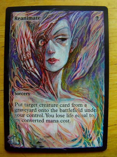 Reanimate card alter by seesic