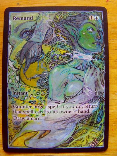 Remand card alter by seesic
