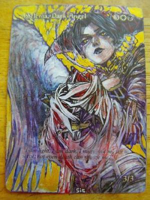 Selenia, Dark Angel alter #