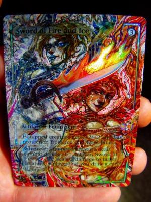 Sword of Fire and Ice alter #
