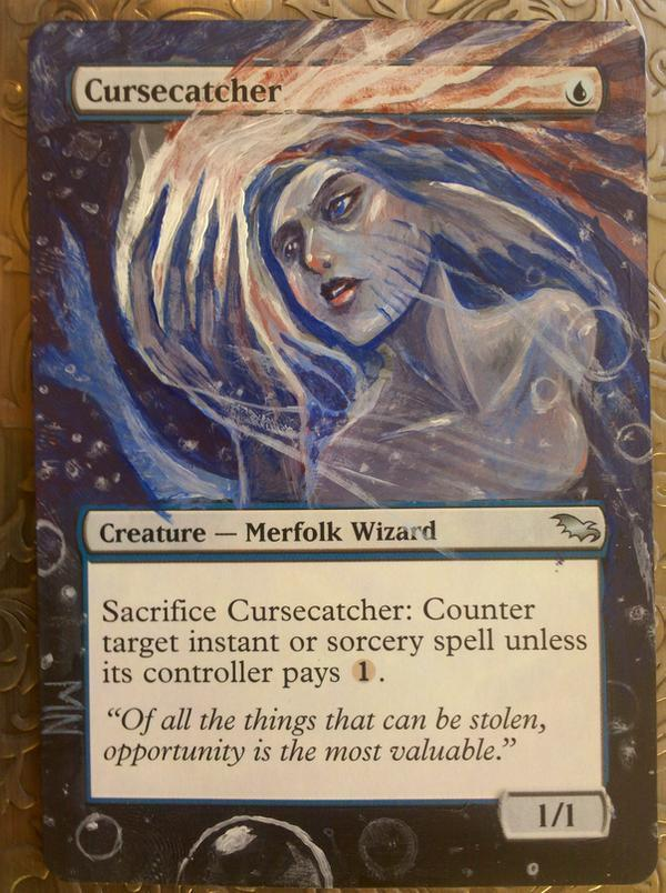 Cursecatcher card alter by seesic