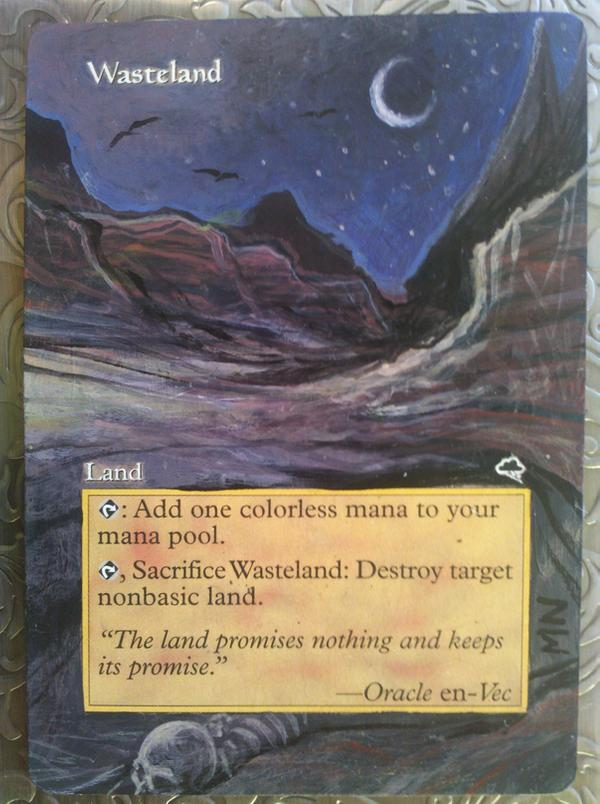Wasteland card alter by seesic