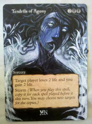 Tendrils of Agony alter #