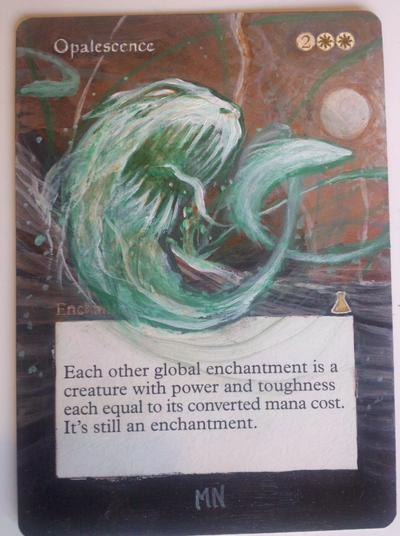 Opalescence card alter by seesic