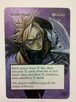 Death Cloud alter #
