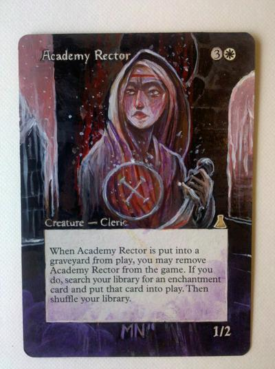 Academy Rector card alter by seesic