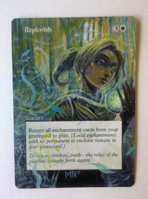 Replenish alter #