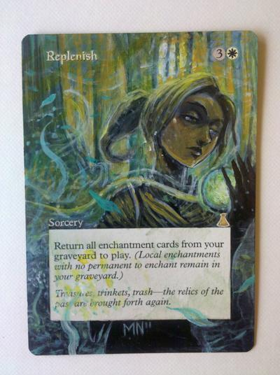 Replenish card alter by seesic