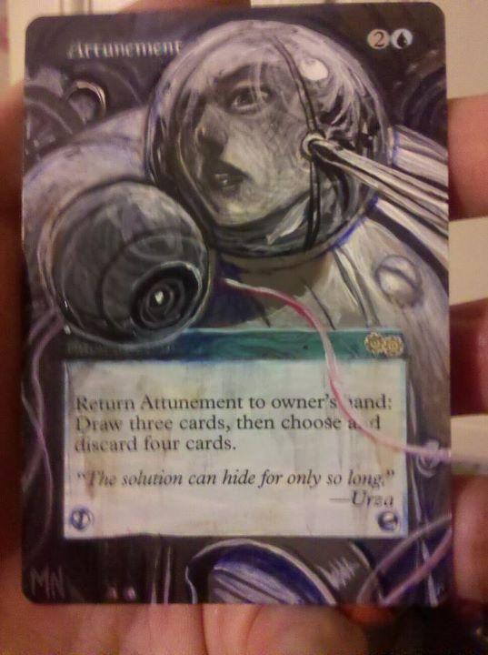Attunement card alter by seesic