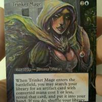 Trinket Mage alter #