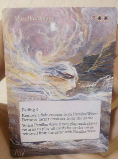 Parallax Wave card alter by seesic