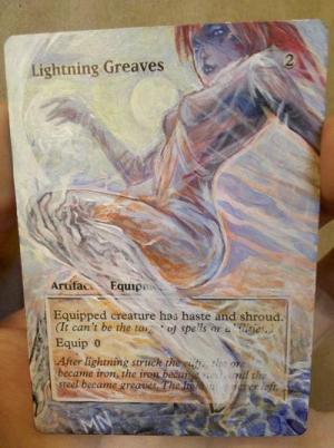 Lightning Greaves alter #