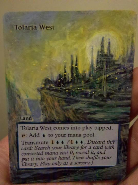 Tolaria West card alter by seesic