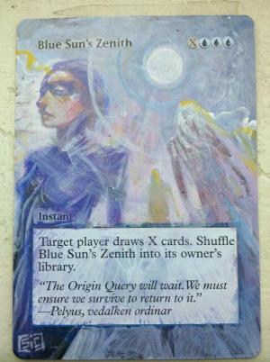Blue Sun's Zenith alter #