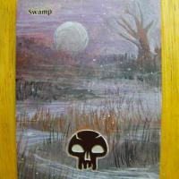 Swamp (241) - Full Art alter #