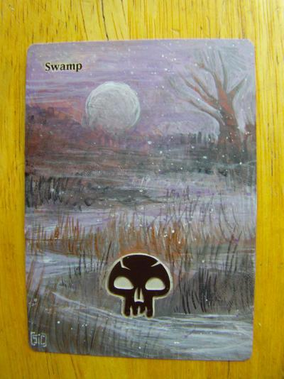 Swamp card alter by seesic