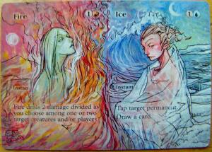 Fire // Ice alter #