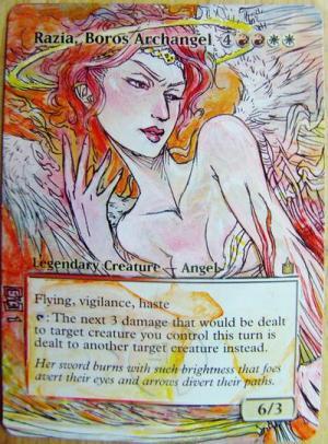Razia, Boros Archangel alter #