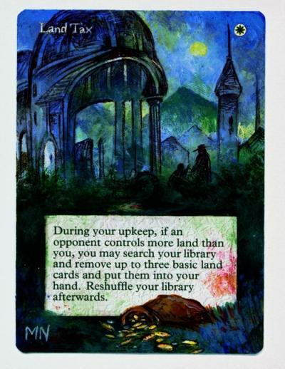 Land Tax card alter by seesic