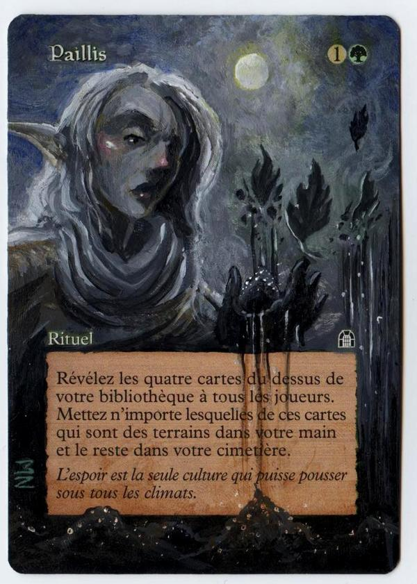 Mulch card alter by seesic