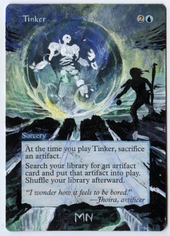 Tinker card alter by seesic