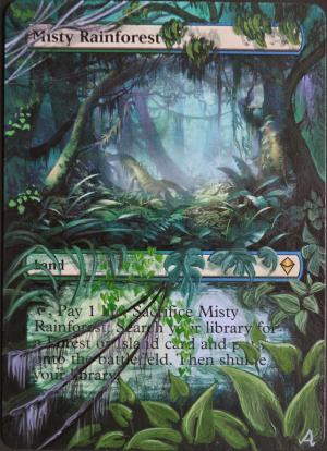Misty Rainforest alter #