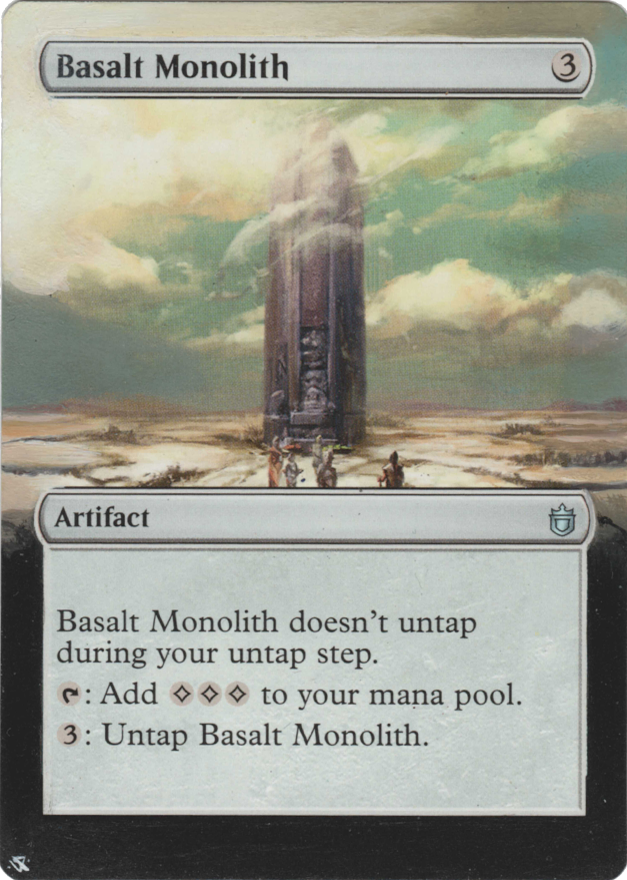 Basalt Monolith card alter by Hedon