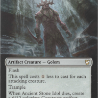 Ancient Stone Idol alter #