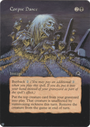 Corpse Dance alter #