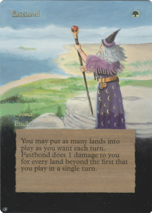 Fastbond Card Alter by Hedon