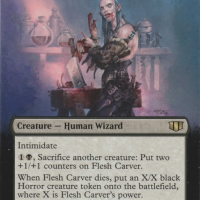 Flesh Carver alter #