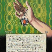 Jeweled Amulet alter #