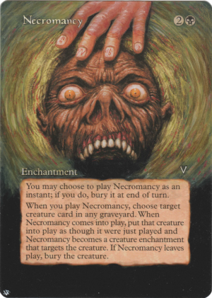 Necromancy Card Alter by Hedon