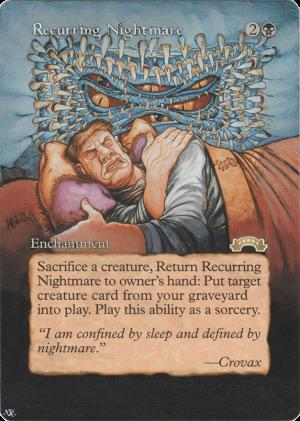 Recurring Nightmare alter #
