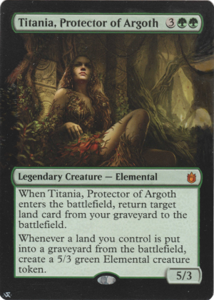 Titania, Protector of Argoth Card Alter by Hedon