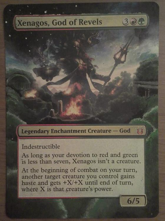 Xenagos, God of Revels card alter by Bodaddy86