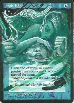 High Tide (Merfolk) alter #