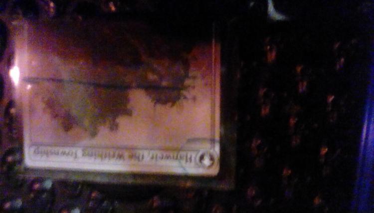 Hanweir Battlements card alter by brandyruck