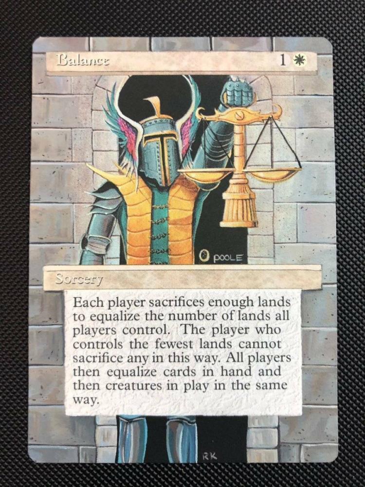 Balance card alter by DarthNoogies