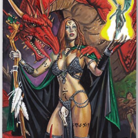 Kaalia of the Vast alter #
