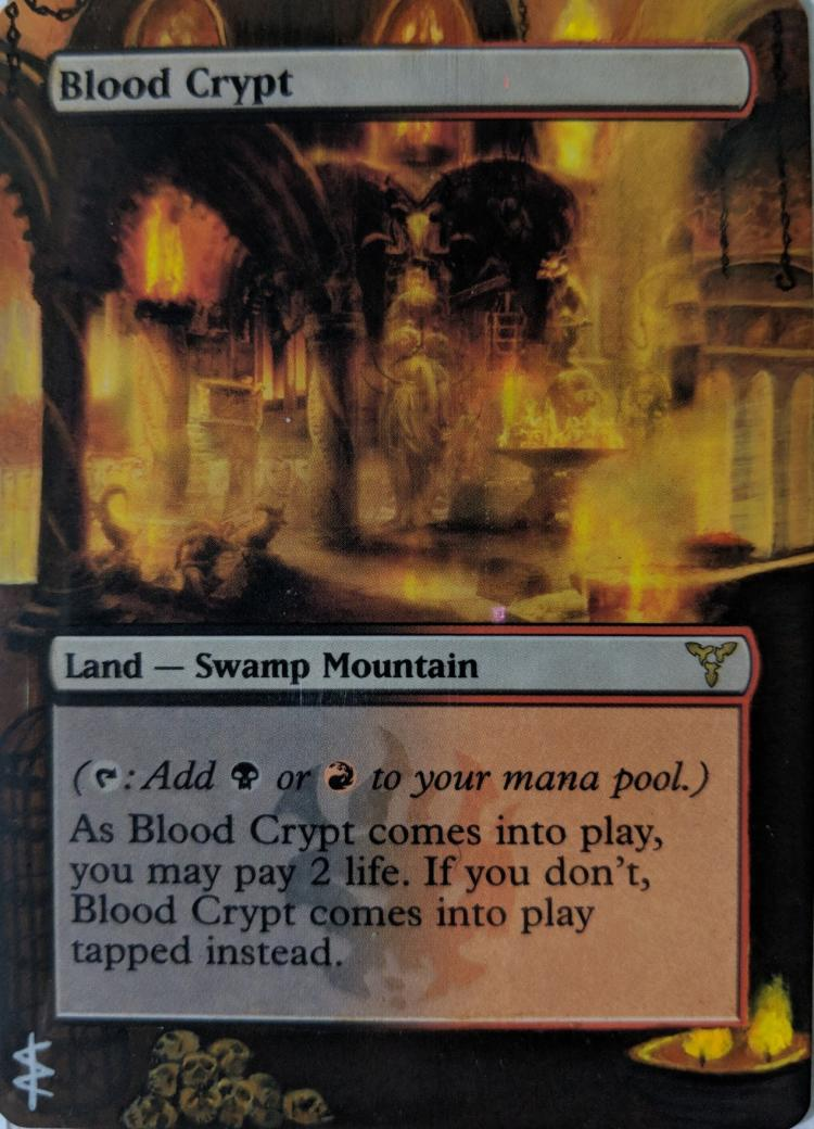 Blood Crypt card alter by Abrakadaver