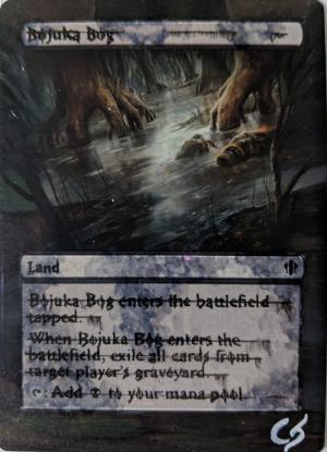 Bojuka Bog Card Alter by Abrakadaver