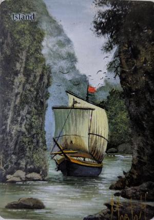 Island Card Alter by Abrakadaver