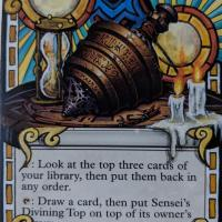 Sensei's Divining Top alter #